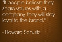 Values / Experience Boutique brand values