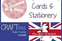 #CRAFTfest Best of British Feb 2016 - Papercrafts, Crafts & Stationary Category! / Sellers with stalls in the Papercrafts, Crafts & Stationary category of the Feb #CRAFTfest Best of British Event share with us their creations. http://craftfest-events.com/papercraftsandcards.html