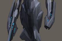 androides y trajes roboticos