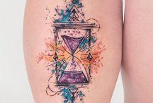 Hourglass Tattoo Ideas