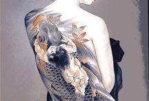 日本画刺青