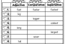 comparative and superlative
