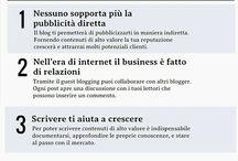 Infografiche / Infografiche sul tema del blogging