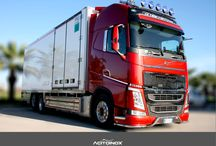 Volvo / #volvoFh #volvo Acitoinox is leader in stainless steel accessories, manufacture and design for #truck #tuning