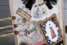 Clipboards / Inspirations for an altered art project