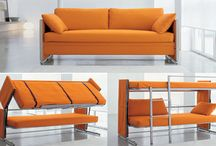 funny, smart, space-saving solutions / multifunction furnitures