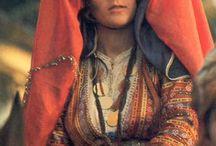 Anadolu gelin başı ve kıyafetleri