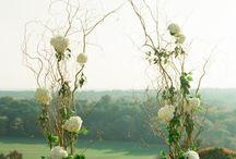 WEDDING / IDEE PER ALLESTIMENTI FLOREALI MATRIMONI ED EVENTI