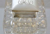 Glass,Silver and Wicker / by Lynne & Gail