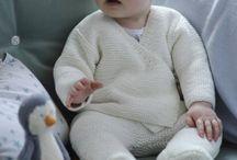 Tejido y ropa de niños