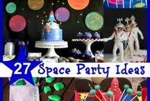 Boy-party 9: Astronaut