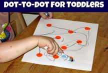 Toddler/Preschool Hands-on Learning / A number of activities to do with young children - toddlers and preschoolers.  Helps them achieve their developmental milestones and gain independence skills. / by Jennifer Gunter