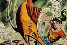 Vintage Comic Book Heroines