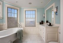 Benji and Judy Bathrooms / Kohler Project.  Kin overhaul. / by Christiane Lemieux
