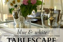 Tablescapes / Table Settings