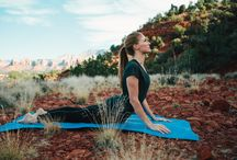 YOGA-SPIRATION / yoga is one of the best ways to keep grounded and focused on personal growth. here is where we stay inspired to keep practicing.