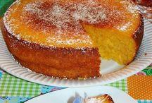 bolo de batata doce com coco