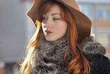 Hairstyles / Redhead love.