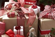 Christmas Gift Wrapping / by Sandra Waldrop