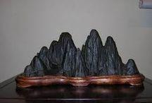 Suiseki / pietra lavorata dall'acqua