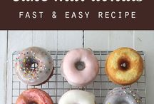 Coffee x Donuts / Everything Coffee and Donuts. For those that love them both. / by Tiffy Diamond