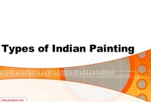 Types of Indian Painting / I feel proud and privileged presenting before you the Indian Paintings. Here below 10 Types of Indian Painting are given.