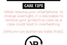 YP Smartphone Accessory Care Tips