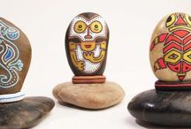 DIY - Rockart / Ideas for motives to paint on rocks/stones