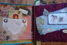 Altered Fabric Books / by Taarna T