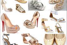 Sapatos / Confira aqui fotos e modelos de sapatos femininos para todas as ocasiões. Sapatos para noivas, para o réveillon, para casamento, festas...