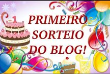 NIVER DO BLOG: PRIMEIRO SORTEIO!UHUUUU!