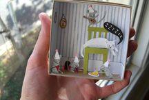 Paper miniature