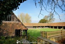 Lains Barn Weddings / Weddings at Lains Barn in Oxfordshire by Carol Elizabeth Photography.  A beautiful rustic location to celebrate your marriage.