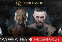 Get Cashback on your bet in the Floyd Mayweather Vs Conor McGregor Fight at RIch Casino