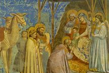 Images of the ADORATION of CHRIST/GIFTS of the MAGI / by Leslie Greene
