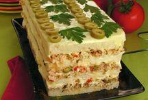 tortas e bolos salgados