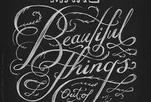 Typography / by Jenny Smith