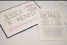 Wedding Invitations / Wedding invitations by Makenzie Deering