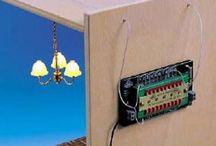 oświetlenie domków