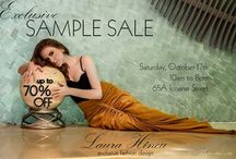Sample Sale - October 17 / FIRST SAMPLE SALE  UP TO 70% OFF