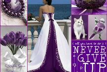 Violet & White