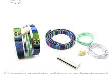 Kit bracelet manchette ethnique