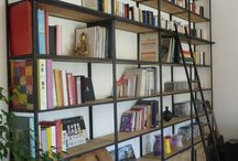 bibliotheque bois