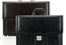 Men`s Briefcases made from Italian Leather