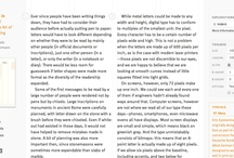 typography websites