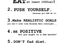 My Fitness motivations