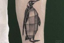 pingvin tattoo