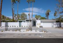 Modernism Week 2016 / Photography of the Thomboy Properties' Sierra Way Signature Home. Dunn-Edwards was a Premier Paint Sponsor of the home and provided all of the paint for the project. (Photo Credit: KetchumPhotography.com) / by Dunn-Edwards Paints