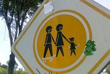 street art stickers / street art stickers in mexico city