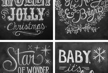 Chalk board art  / Fonts and other for chalk boards